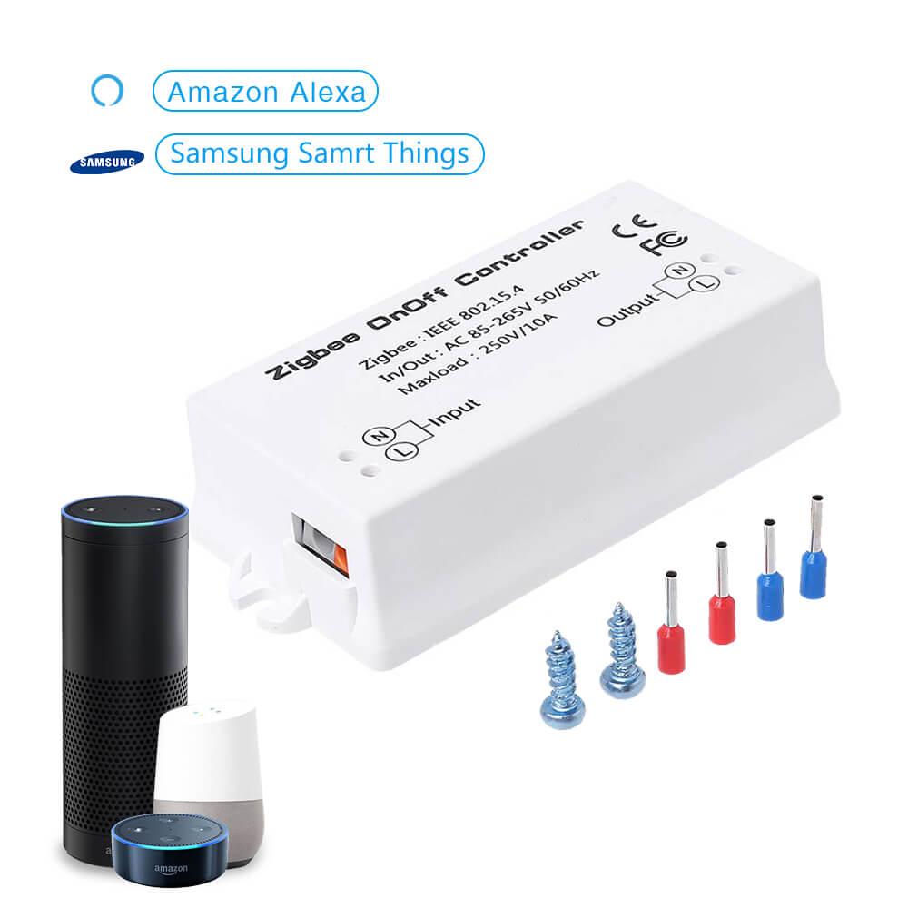 Eachen Zigbee Onoff Switch Ac Zgb1 Alexa App Smartthings