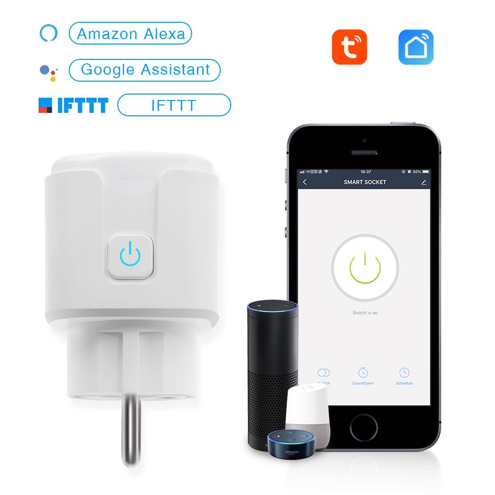 Eachen Mini Plug Eu Tuya Smart Life App Eachen Diy