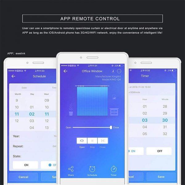 Eachen Smart Curtain Switch Sct Curtain Eu Ewelink App